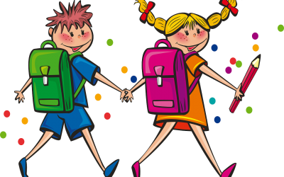 Young Children Starting School